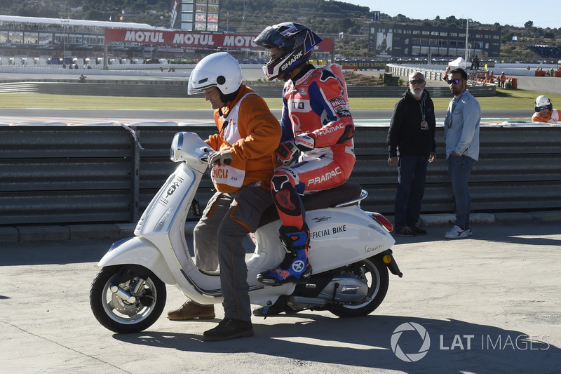 Scott Redding, Pramac Racing after the crash