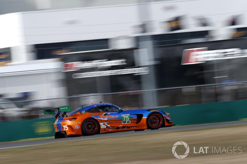 46.- #75 SunEnergy1 Racing Mercedes AMG GT3: Kenny Habul, Thomas Jäger, Maro Engel, Mikael Grenier