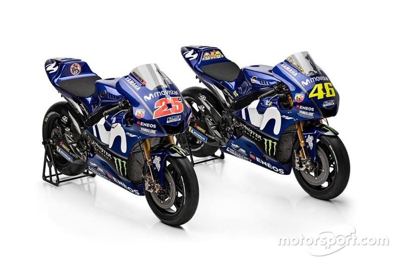 Мотоцикли Валентино Россі та Маверіка Віньялеса, Yamaha Factory Racing