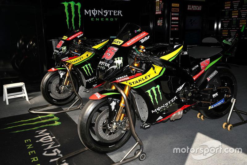 Мотоцикли Monster Yamaha Tech 3