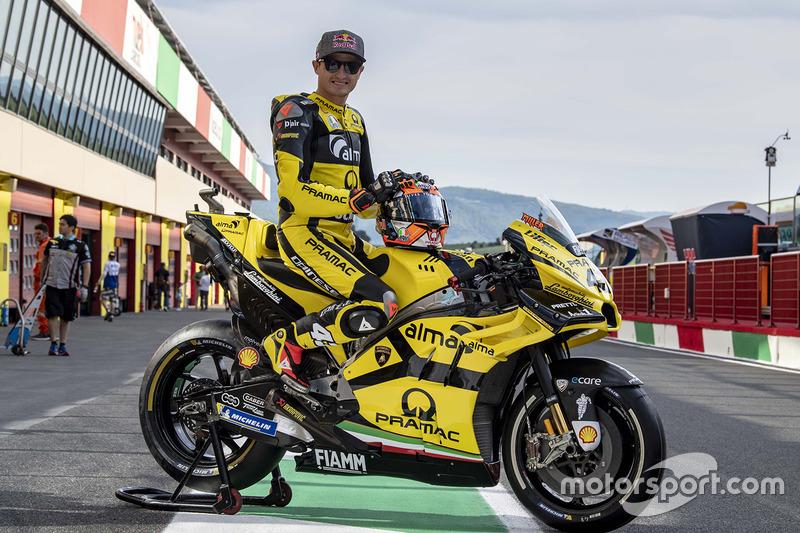 Новая ливрея Pramac Racing