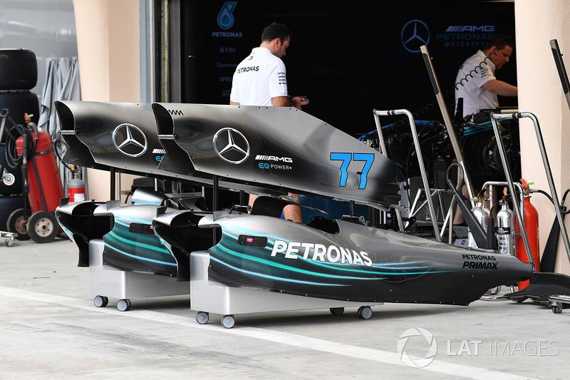 Mercedes-AMG F1 W09 EQ Power+ bodywork