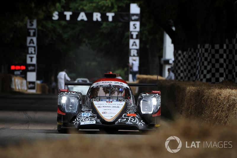 Jackie Chan DC Racing ORECA 07, second place 2017 Le Mans 24 Hours
