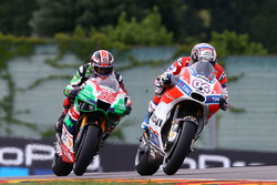 Andrea Dovizioso, Ducati Team, Sam Lowes, Aprilia Racing Team Gresini