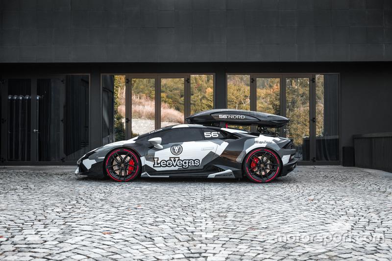 Jon Olsson Lamborghini Huracán Camouflage