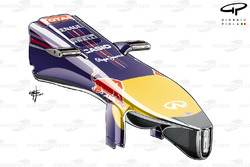 Red Bull RB10 nosecone with 'pelican' underbelly added
