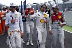 Marco Wittmann, BMW Team RMG, BMW M4 DTM, Augusto Farfus, BMW Team RMG, BMW M4 DTM, Mike Rockenfeller, Audi Sport Team Phoenix, Audi RS 5 DTM