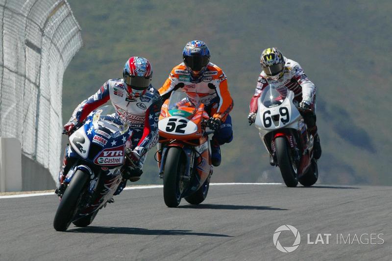 Colin Edwards, Honda, James Toseland, Ducati, Nicky Hayden, Honda