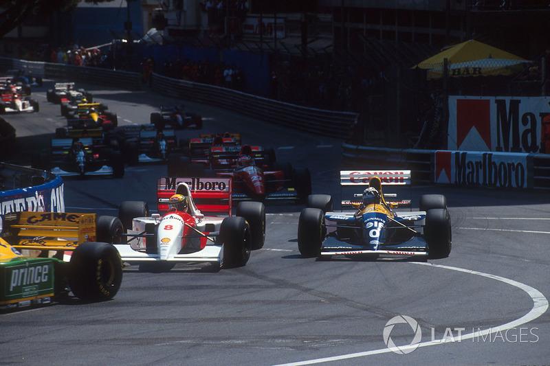 Старт Гран При Монако 1993 года