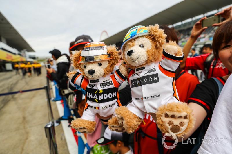 McLaren bears