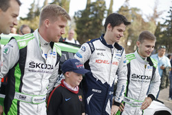 Teemu Suninen, M-Sport World Rally Team and Juuso Nordgren, Tapio Suominen, Skoda Motorsport