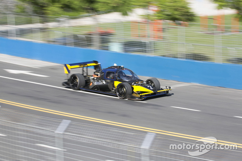 Roborace development cars DevBot 2