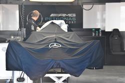 Abgedeckter Mercedes-Benz F1 W08
