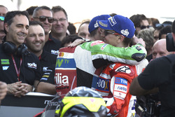Le troisième, Jorge Lorenzo, Ducati Team, Aleix Espargaro, Aprilia Racing Team Gresini