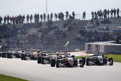 Pedro Piquet, Van Amersfoort Racing Dallara F317 - Mercedes-Benz, David Beckmann, Motopark, Dallara F317 - Volkswagen