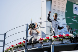 Podio:  Sergio Sette Camara, MP Motorsport
