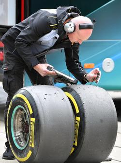 Pirelli mühendisleri