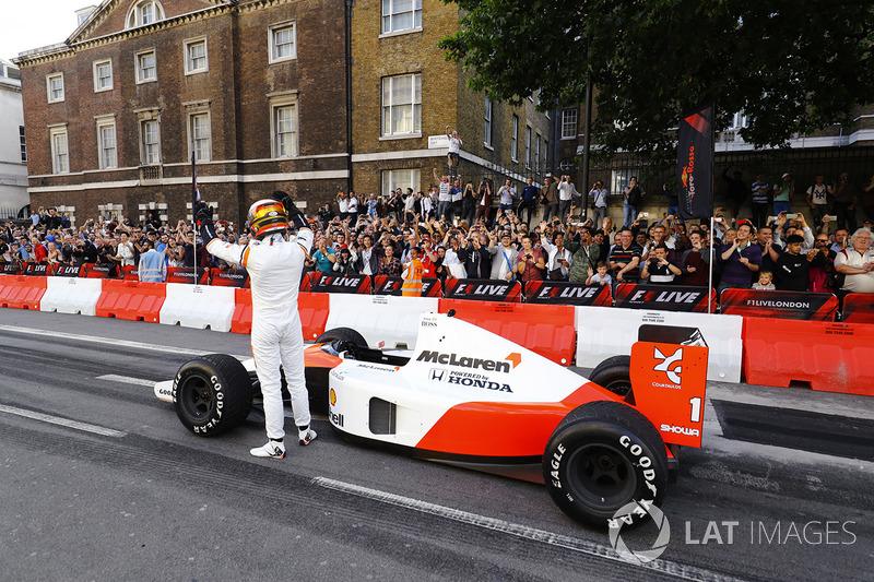 Stoffel Vandoorne, McLaren, McLaren MP4/6 1991