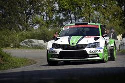 Andreas Mikkelsen, Anders Jäger, Skoda Fabia R5, Skoda Motorsport