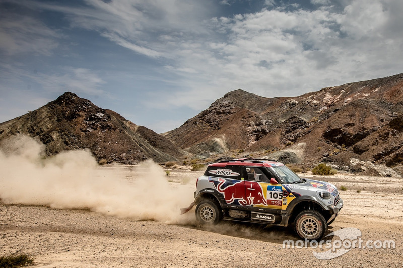 #105 X-Raid Team Mini: Bryce Menzies, Peter Mortensen