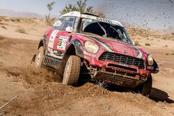 №307 X-Raid Team Mini: Орландо Терранова и Бернардо Грауэ