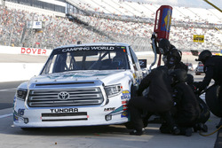 Ryan Truex, Hattori Racing Enterprises Toyota pit stop
