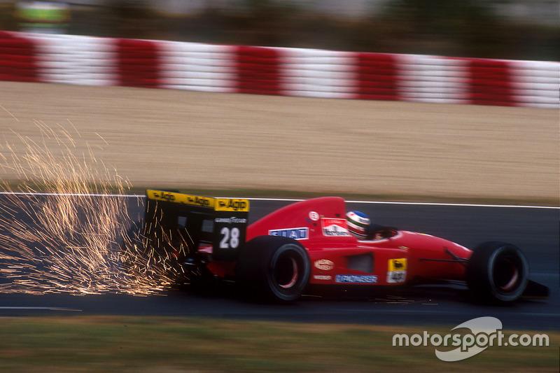 Формула 1. Гран При Испании, Иван Капелли, 1992 год