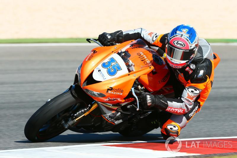 Stefan Hill, Profile Racing Triumph