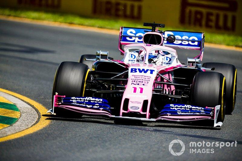 13. Серхіо Перес, Racing Point — 0