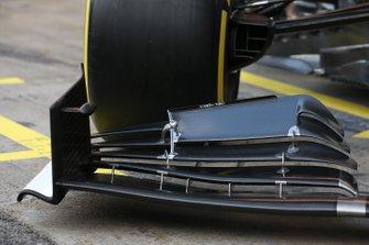 Alfa Romeo Racing Sauber front nose technical detail