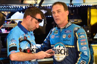 Kevin Harvick, Stewart-Haas Racing, Ford Mustang Busch Beer and Rodney Childers