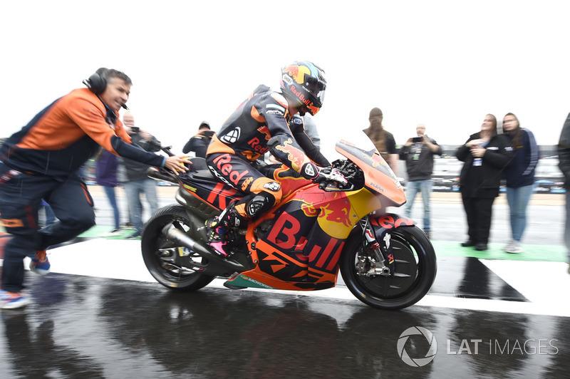 Bradley Smith, Red Bull KTM Factory Racing, durante el Gran Premio de Gran Bretaña