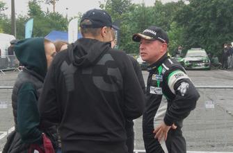 Ігор Скуз після гонки з вболівальниками