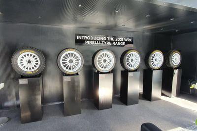 Neumáticos Pirelli WRC 2021, presentación