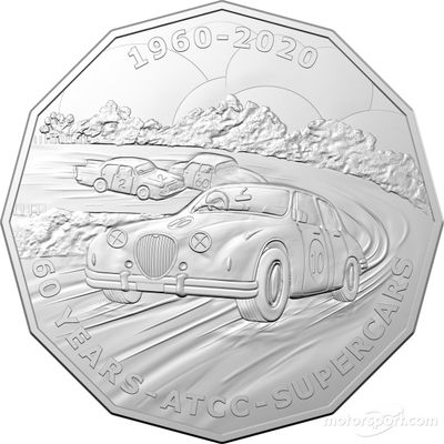 Royal Australian Mint Supercars coin collection
