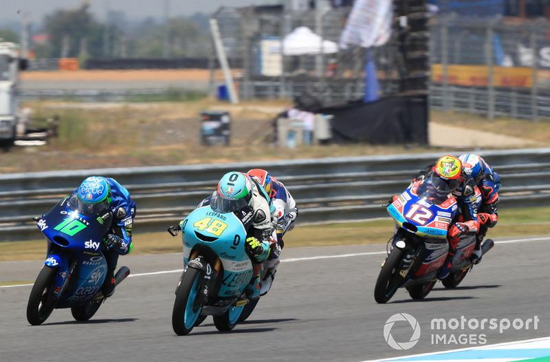 Dennis Foggia, Sky Racing Team VR46, Lorenzo Dalla Porta, Leopard Racing