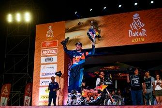 Podium: Red Bull KTM Factory Racing KTM: Matthias Walkner