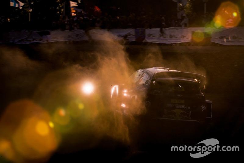 Элфин Эванс и Дэниэл Бэрритт, M-Sport Ford WRT Ford Fiesta WRC