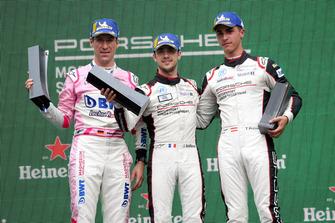 Podio: Michael Ammermüller, BWT Lechner Racing, Julien Andlauer, martinet by ALMERAS, Thomas Preining, BWT Lechner Racing
