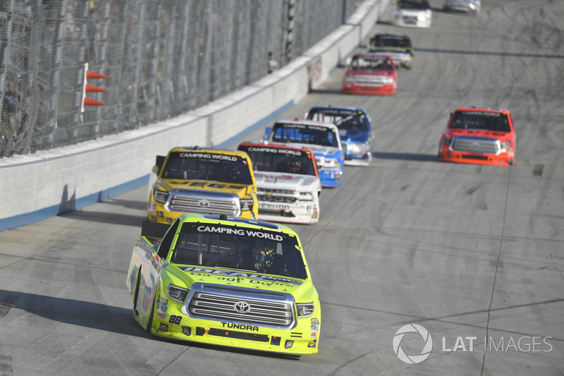 Matt Crafton, ThorSport Racing, Toyota; Cody Coughlin, ThorSport Racing, Toyota
