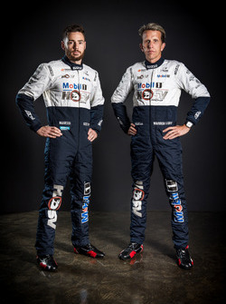 Scott Pye and Warren Luff, HSV Racing