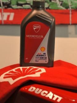 Shell Advance Ducati