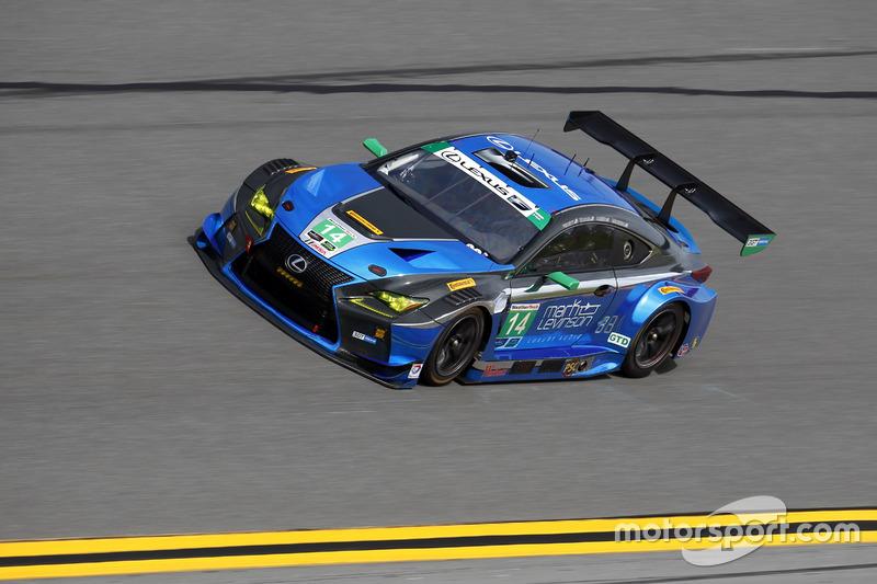 #14 3GT Racing Lexus RCF GT3: Scott Pruett, Ian James, Gustavo Menezes, Sage Karam