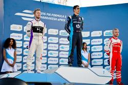 Подіум: переможець Себастьян Буемі, Renault e.Dams; другий призер Сем Бьорд, DS Virgin Racing; треті