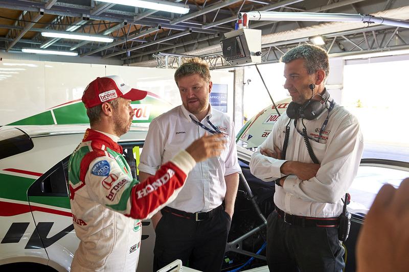 Andrea Cisotti, Tiago Monteiro, Honda Racing Team JAS