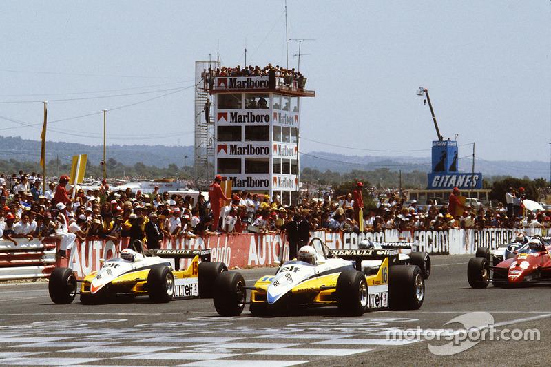 4: Rene Arnoux & Alain Prost (Renault)