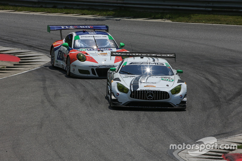 #50 Riley Motorsports Mercedes AMG GT3: Gunnar Jeannette, Cooper MacNeil, #54 CORE autosport Porsche 911 GT3R: Jon Bennett, Colin Braun