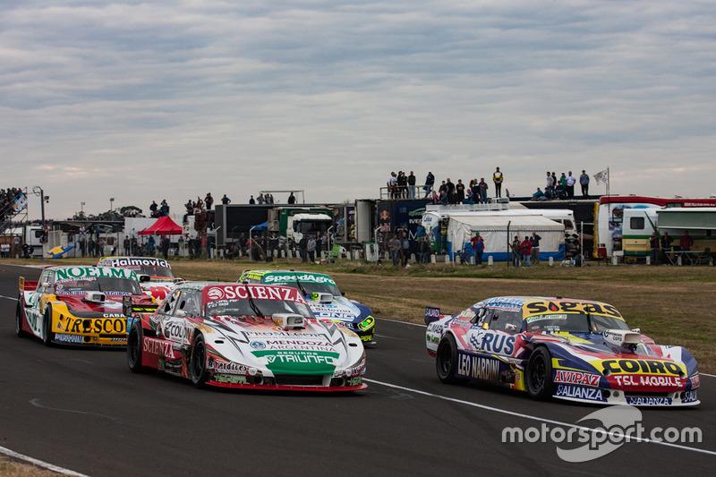 Martin Serrano, Coiro Dole Racing Chevrolet, Matias Jalaf, Indecar CAR Racing Torino