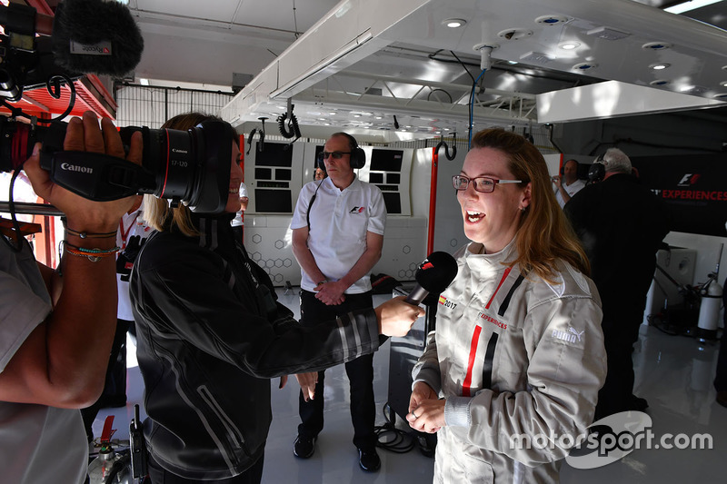 Пассажир F1 Experiences
