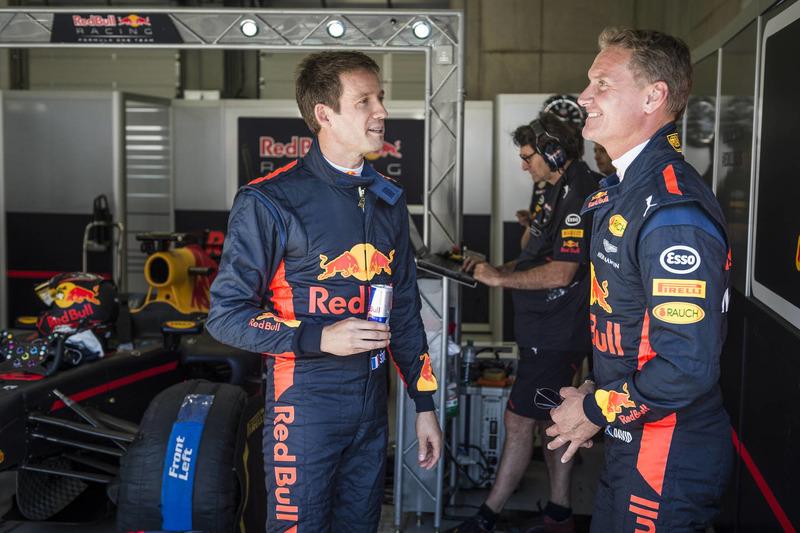 Себастьен Ожье и Дэвид Култхард, Red Bull Racing
